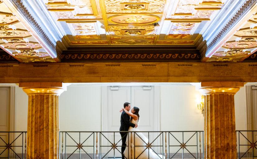 Ballroom at the Ben ~ Philadelphia ~ Wedding Photos ~ Nora & Brian
