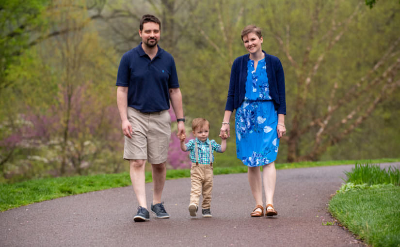 The Geist Family ~ Spring Mini Session 2019 ~ Morris Arboretum