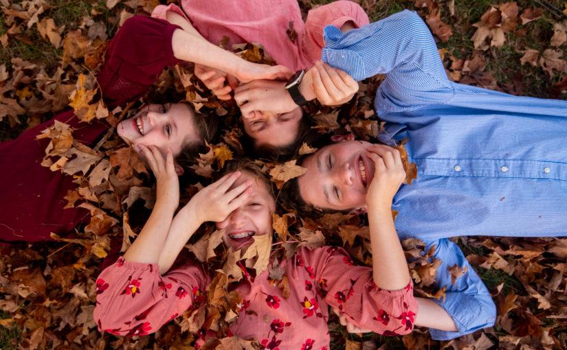 DiLenge Family ~ Fall Mini Session ~ Heckler Plains Park