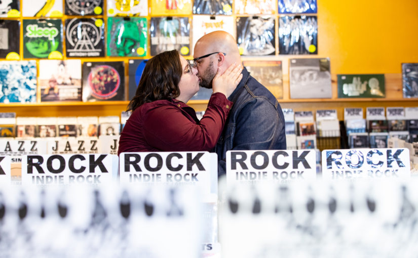 Mandy + Matthew's Engagement Session ~ Downtown Doylestown / Mercer Museum