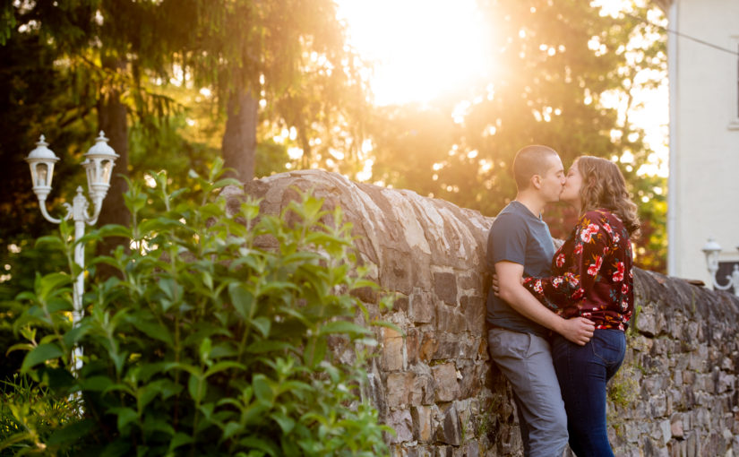 Colleen & Matt's Engagement Session ~ Manor House at Prophecy Creek