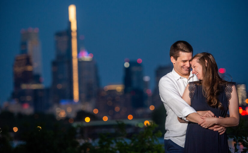 Jennifer & Anthony's Engagement Session ~ Boathouse Row