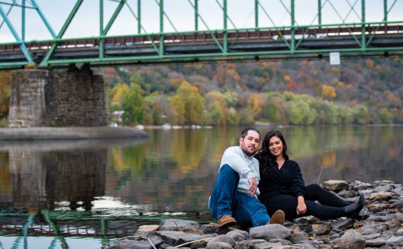 Alexis and Jake's Engagement Session ~ New Hope