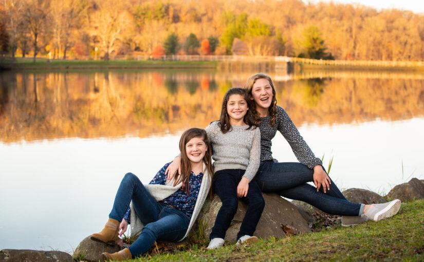 The DiLenge Family 2020 ~ Green Lane Park