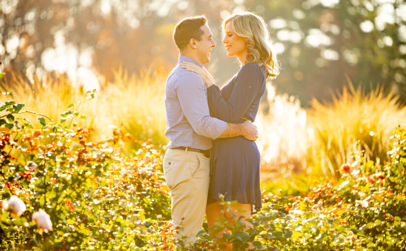 Heather & Jared's Engagement Session ~ Longwood Gardens