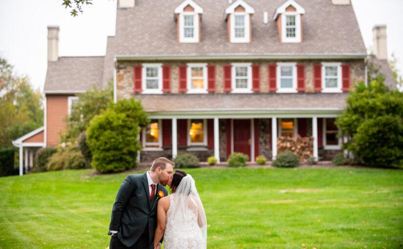 Viveca & Matt's Wedding ~ Joseph Ambler Inn