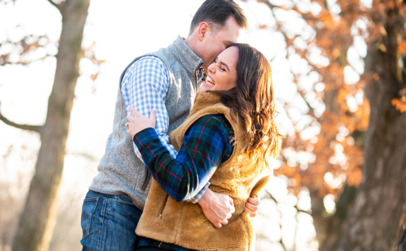 Jenn & Ben's Engagement Session ~ Manor House at Prophecy Creek